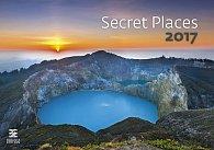 Kalendář nástěnný 2017 - Secret Places/Exclusive