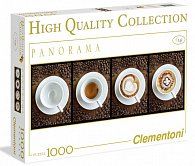 Puzzle Panorama 1000 dílků Káva