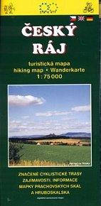 Český ráj turistická mapa 1:75 000