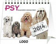Psy s menami psov Praktik - stolní kalendář 2014
