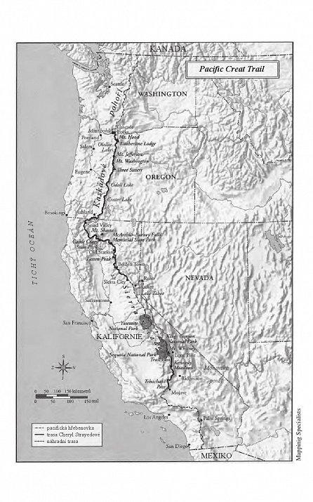 Náhled Divočina - Pěšky 1770 kilometrů z Mohavské pouště až k mostu Bohů
