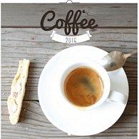 Kalendář nástěnný 2016 - Káva - voňavý, poznámkový  30 x 30 cm