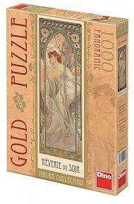 Alfons Mucha - Snění večera - puzzle 1000
