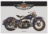 Kalendář 2015 - Harleys Libero Patrignani - nástěnný s prodlouženými zády