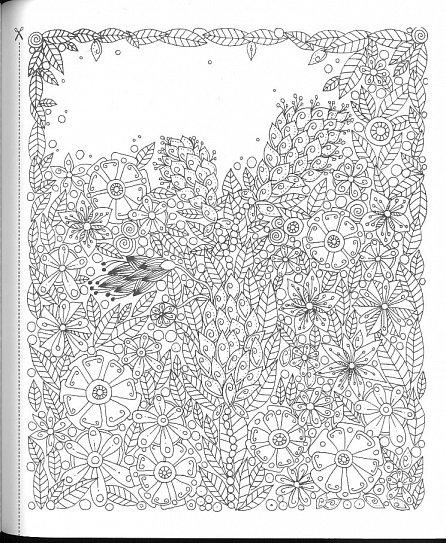 Náhled Kouzelné zahrady - Antistresové omalovánky