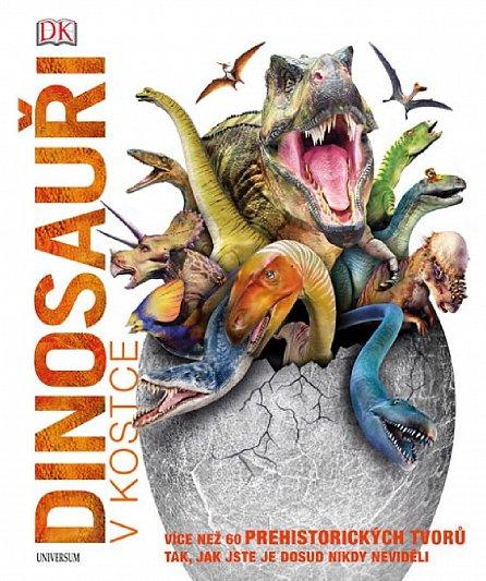 Náhled Dinosauři v kostce - Více než 60 prehistorických tvorů tak, jak jste je dosud nikdy neviděli