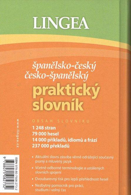 Náhled Španělsko-český, česko-španělský praktický slovník ...pro každého