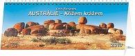 Kalendář 2013 stolní - Austrálie Leoš Šimánek, 33 x 12,5 cm