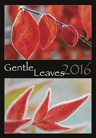 Kalendář nástěnný 2016 - Gentle Leaves