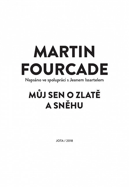 Náhled Martin Fourcade - Můj sen o zlatě a sněhu