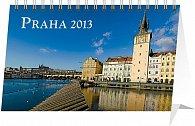 Kalendář 2013 stolní - Praha, 23,1 x 14,5 cm