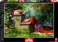 Puzzle Spící dívka 1500 dílků