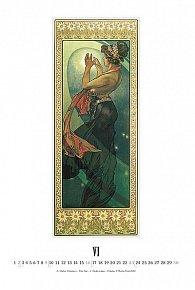 Kalendář 2013 nástěnný - Alfons Mucha, 33 x 46 cm