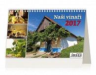 Kalendář stolní 2017 - Naši Vinaři