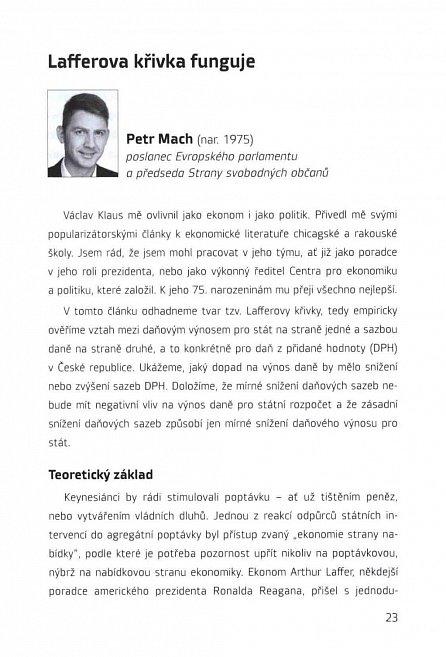 Náhled Mladí ekonomové (o) Václavu Klausovi - Festschrift k 75. narozeninám