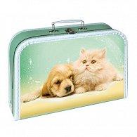 Kufřík - Kočka a štěně 35 cm