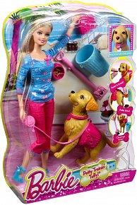 Barbie hrací set se šťěňátkem