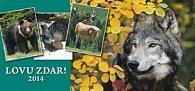 Lovu zdar - stolní kalendář 2014