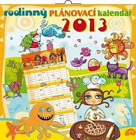 Kalendář 2013 poznámkový plánovací - Rodinný, 30 x 60 cm