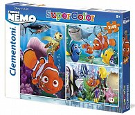 Puzzle Supercolor Nemo 3x48 dílků