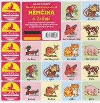 Najdi dvojici Němčina 4. Zvířata