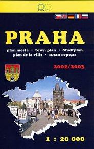 Praha plán města 2002/2003   1:20 000