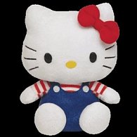 Hello Kitty modré kalhotky