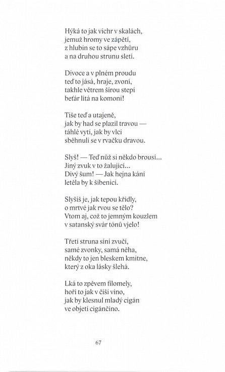 Náhled Epické básně