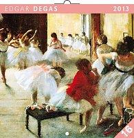 Kalendář 2013 poznámkový - Edgar Degas, 30 x 60 cm