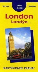 PM Londýn - London  plán města