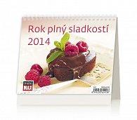 Kalendář 2014 - MiniMax Rok plný sladkostí - stolní