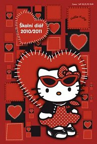 Hello Kitty - Školní diář 2010/2011