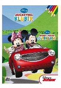 Mickeyho klubík - Omalovánky A4