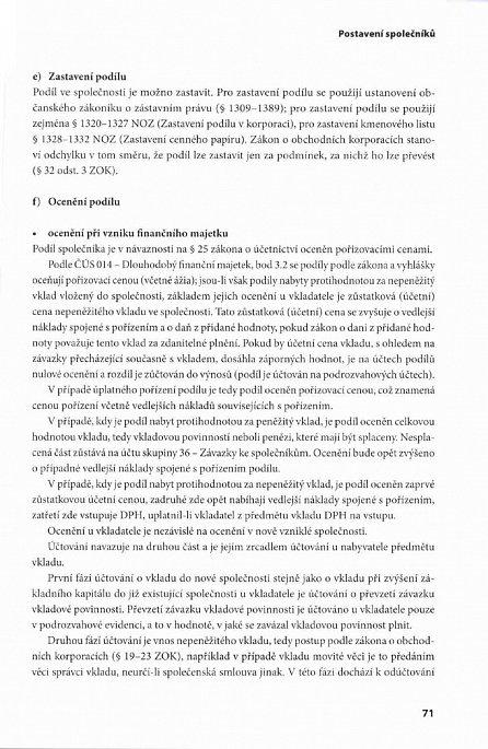Náhled Nová společnost s ručením omezeným - právo – účetnictví – daně