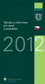 Tabulky a informace pro daně a podnikání 2012