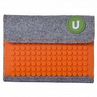 Pixel Wallet 07 Oranžová