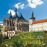 České památky 2016 - nástěnný kalendář