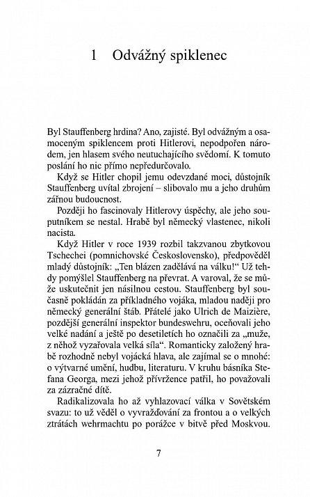 Náhled Hrabě von Stauffenberg - Pravdivý příběh