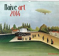 Kalendář 2014 - Naivní umění Henri Rousseau - nástěnný s prodlouženými zády