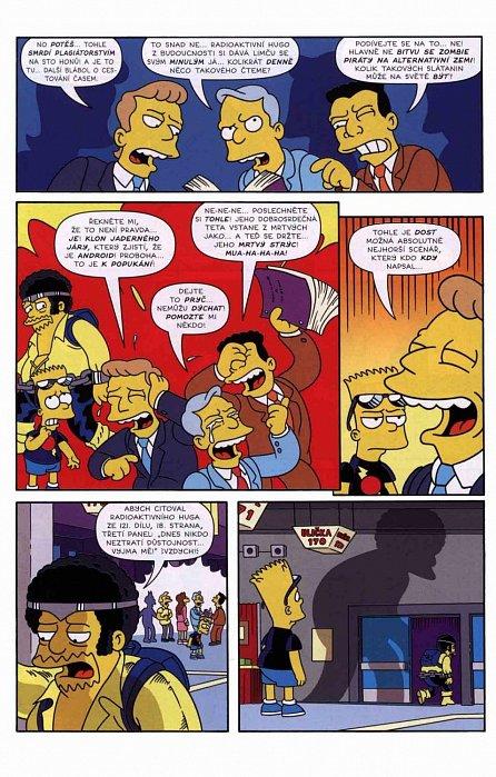 Náhled Simpsonovi - Bart Simpson 12/2016 - Zlatý hřeb programu