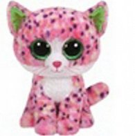 Beanie Boos Sophie růžová kočka 15 cm