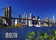 Kalendář 2012 - Mosty - nástěnný