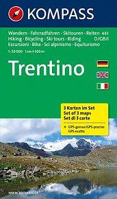 Trentino  683  (sada 3 map )   NKOM