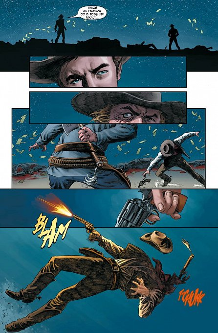 Náhled Jonah Hex - Tvář plná násilí - brož.