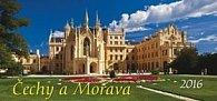 Čechy a Morava 2016 - stolní kalendář