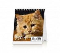 Kalendář 2014 - Mini Kittens - stolní