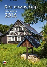 Kalendář nástěnný 2016 - Kde domov můj