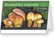 Kalendář stolní  2012 - Houbařský s recepty, 23,1 x 14,5 cm