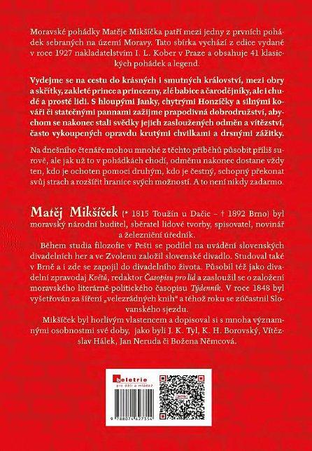 Náhled Moravské národní pohádky