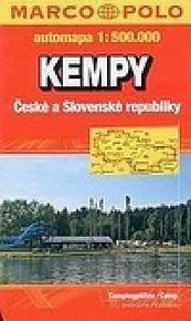 Kempy ČR a SR/mapa 1:500T VKU